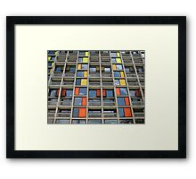 Park Hill - Urban Splashed Framed Print