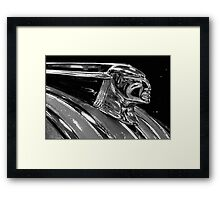 Profile of A Pontiac Framed Print
