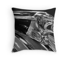 Profile of A Pontiac Throw Pillow