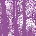 LONDON PARKS *UNNATURALLY* 9 Mauve Mave' by Tuartkatz