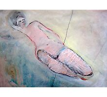 reclining nude Photographic Print