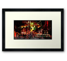 The Artillery Man And The Fighting Machine Framed Print