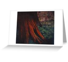 orange tree Greeting Card