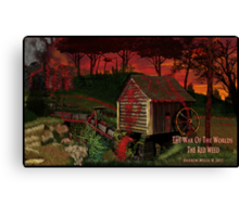 The Red Weed Canvas Print