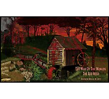 The Red Weed Photographic Print