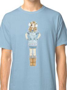 Winter Girl Classic T-Shirt