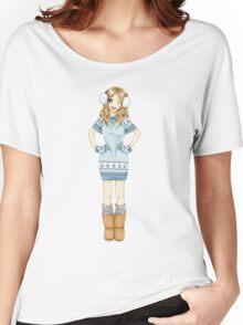 Winter Girl Women's Relaxed Fit T-Shirt