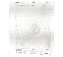 USGS Topo Map Nevada Wilder Creek Ranch 20111227 TM Poster