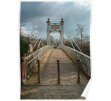 Chester Suspension Bridge Poster