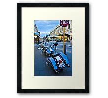 Freo bikes Framed Print