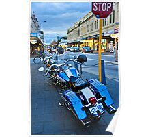 Freo bikes Poster