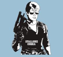 Sylvester Stallone as Cobra Kids Tee