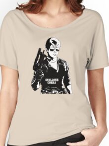 Sylvester Stallone as Cobra Women's Relaxed Fit T-Shirt