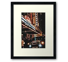 Journalistic Style Framed Print