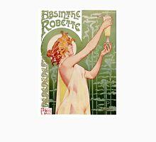 Absinthe Robette 1896 Vintage Poster Restored T-Shirt