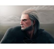 Geralt of Rivia Photographic Print