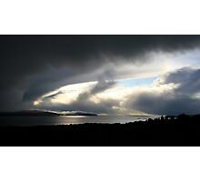 Snowstorm coming, Bantry Bay Photographic Print