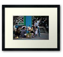 Street Family Framed Print