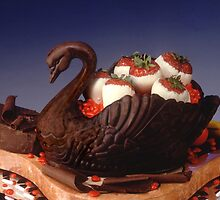 Chocolate Swan by Winthrop Brookhouse
