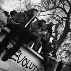 Student Protest, London 2010 by Jamie Nessim