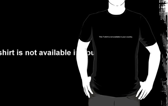 This T-shirt is not available in your country. by doodlewhale