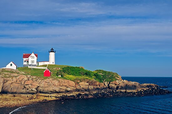 Nubble Lighthouse by Charles Dobbs Photography