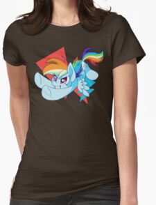 Chibi Rainbow Dash Womens Fitted T-Shirt
