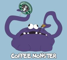 Coffee Monster Kids Clothes