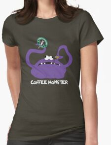 Coffee Monster Womens Fitted T-Shirt