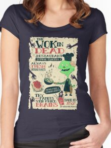 The Wok In Dead Women's Fitted Scoop T-Shirt