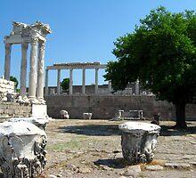 Temple of Trajan (Trajaneum) by Maria1606