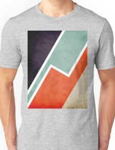Colorful Textural Abstract Graphic Unisex T-Shirt