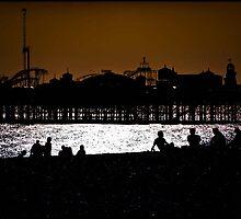 Brighton Beach by Maxmel