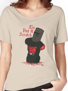 Black Knight - Tis But A Scratch Women's Relaxed Fit T-Shirt