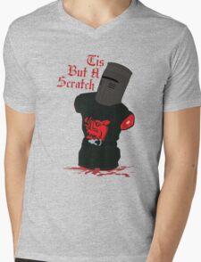 Black Knight - Tis But A Scratch Mens V-Neck T-Shirt