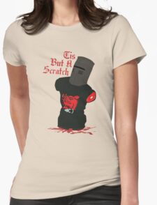 Black Knight - Tis But A Scratch Womens Fitted T-Shirt