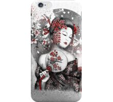 Under the flowers iPhone Case/Skin