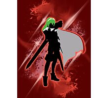 Super Smash Bros. Red Lucina Silhouette Photographic Print
