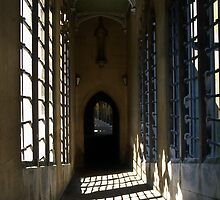 Hallway in Cambridge by hmartinphotos