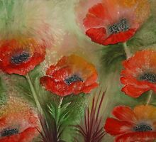 Poppies by Carolyn Green