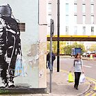Urban Spaceman - SQPR - Stokes Croft - Bristol by RedSteve