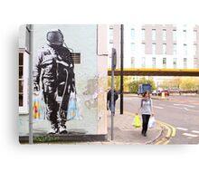 Urban Spaceman - SQPR - Stokes Croft - Bristol Canvas Print