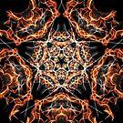 Pentagram Fire by Vicki Field