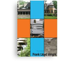 Frank L. Wright Cover (Mock) Canvas Print