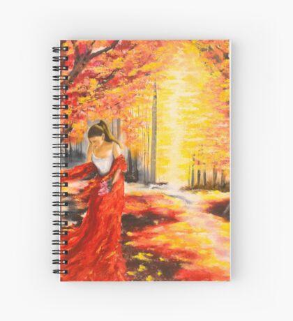 38. Herfs Droom Spiral Notebook