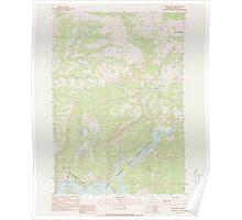 USGS Topo Map Oregon Eagle Rock 279747 1990 24000 Poster