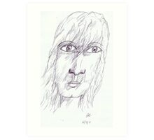 Someone I Know Art Print