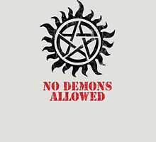 Supernatural No Demons Allowed [BLACK] Unisex T-Shirt