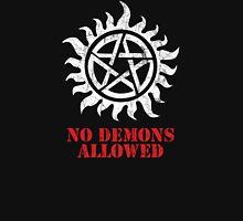 Supernatural No Demons Allowed [WHITE] Unisex T-Shirt