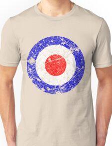 Mod Target Vintage Distressed Unisex T-Shirt